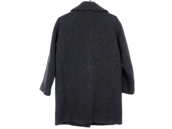 スタニングルアー コート サイズ0 XS レディース美品  ダークグレー×黒 冬物