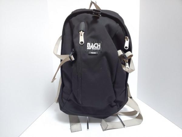BACH(バッハ) リュックサック美品  黒 ナイロン