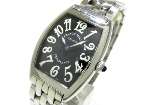 FRANCK MULLER(フランクミュラー) 腕時計 カサブランカ 1752QZ レディース SS 黒
