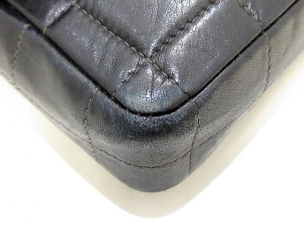 CHANEL(シャネル) ショルダーバッグ チョコバー 黒×ゴールド ラムスキン