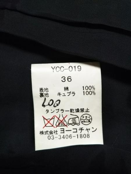 YOKO CHAN(ヨーコ チャン) コート サイズ36 S レディース 黒 春・秋物