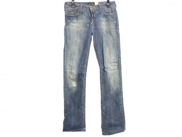 アルマーニジーンズ ジーンズ サイズ27 メンズ美品  ブルー ダメージ加工