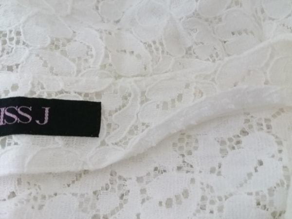 missJ(ミスJ) ワンピーススーツ サイズ11 M レディース美品  アイボリー