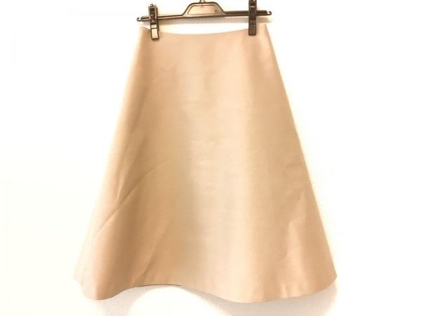 HYALINES(ハイアリン) ロングスカート サイズ36 S レディース美品  ベージュ