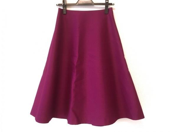 HYALINES(ハイアリン) ロングスカート サイズ36 S レディース美品  ピンクパープル