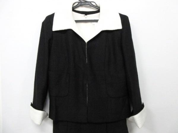 CHANEL(シャネル) ワンピーススーツ サイズ38 M レディース P35514/P35516 黒×白