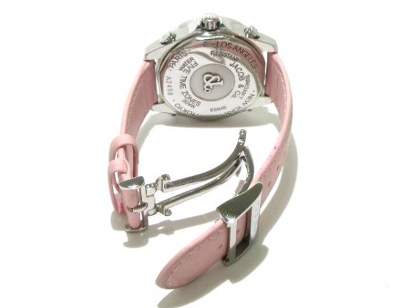 JACOB&CO.(ジェイコブ) 腕時計 ファイブタイムゾーン - メンズ シェルブラウン