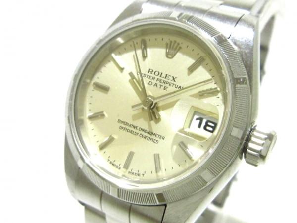 ロレックス 腕時計 オイスターパーペチュアルデイト 69190 レディース シルバー