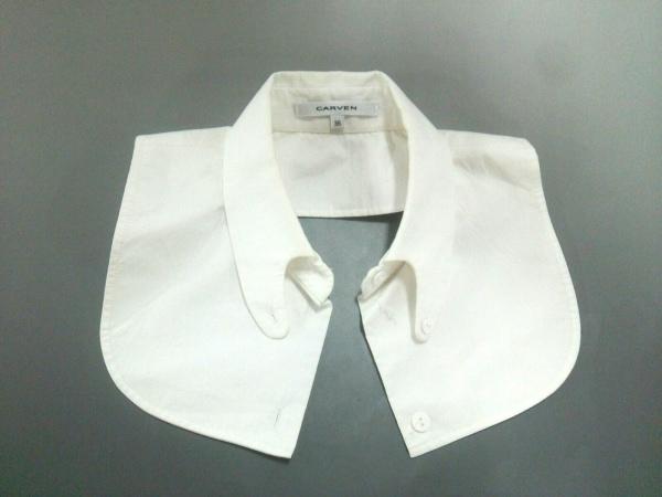 CARVEN(カルヴェン) 小物美品  白 付け襟 コットン