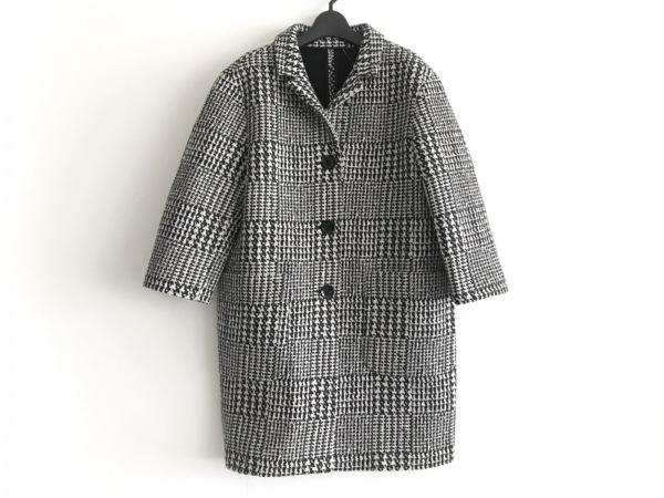 iBlues(イブルース) コート サイズ40 M レディース美品  白×黒 冬物