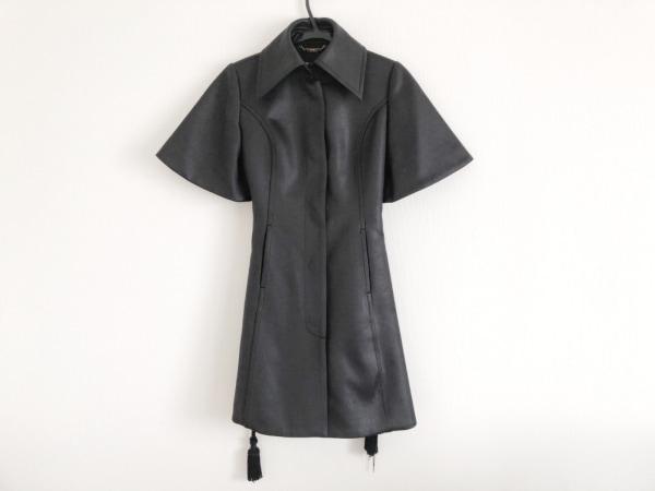DRESS CAMP(ドレスキャンプ) コート サイズ38 M レディース美品  黒 春・秋物/半袖