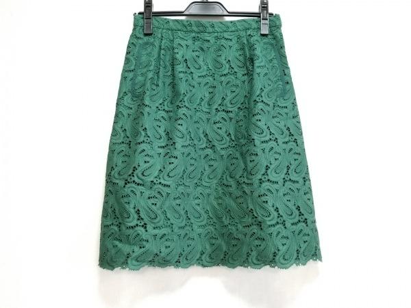 MUGUET(ミュゲ) スカート サイズ36 S レディース美品  グリーン