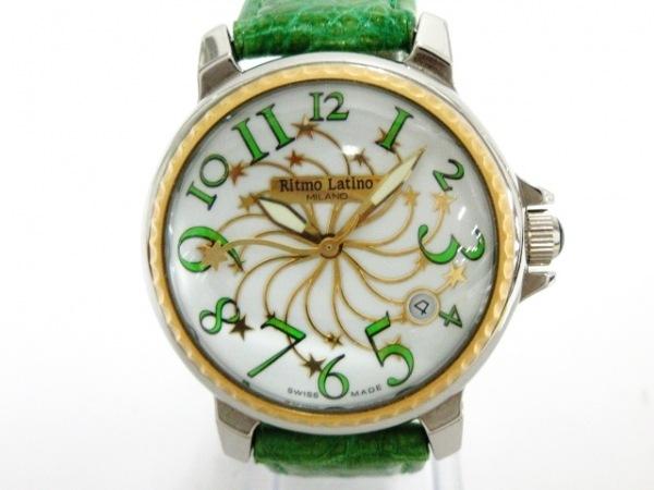 Ritmo Latino(リトモラティーノ) 腕時計美品  ステラ D3EL21GS レディース 白