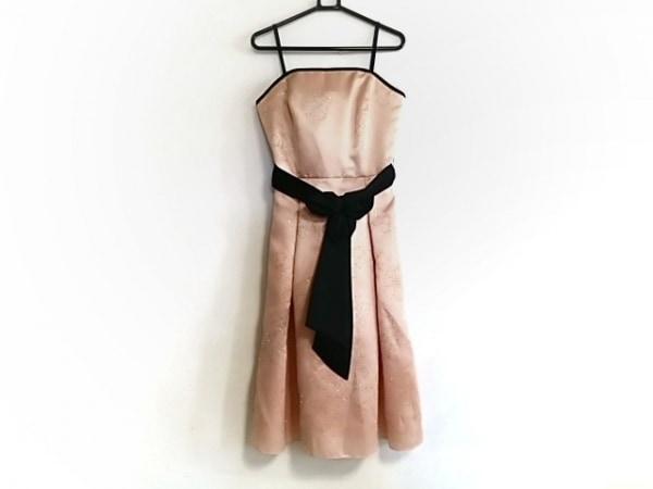 プリフェレンスパーティーズ ドレス サイズ38 M レディース新品同様  ピンク×黒