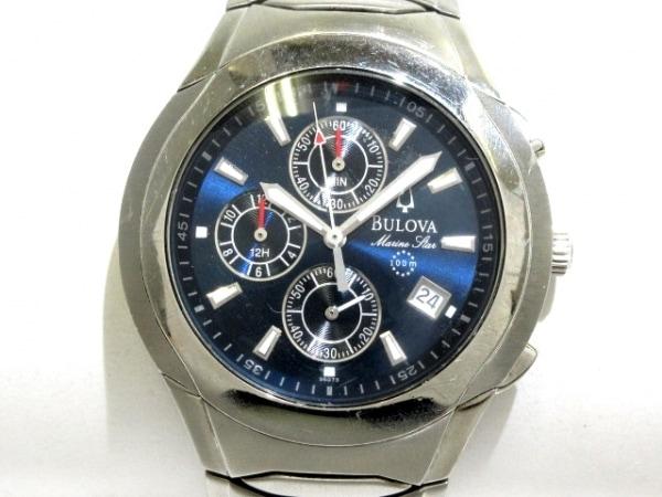 Bulova(ブローバ) 腕時計 - メンズ ネイビー