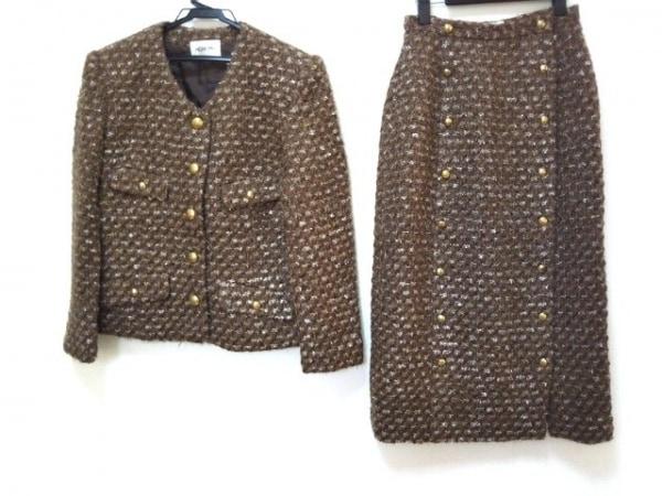 INGEBORG(インゲボルグ) スカートスーツ サイズ記載なし レディース ラメ/肩パッド
