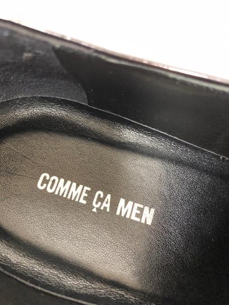 COMME CA MEN(コムサメン) シューズ 26 メンズ ダークブラウン レザー