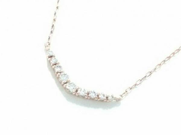 4℃(ヨンドシー) ネックレス K10×ダイヤモンド