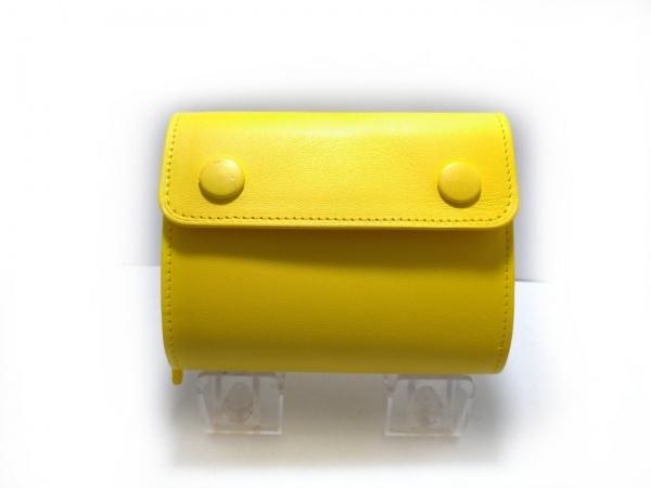 PORTER GIRL(ポーターガール) 3つ折り財布 - イエロー レザー