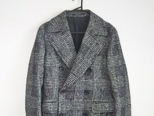TAGLIATORE(タリアトーレ) コート サイズ44/8 メンズ 黒×ライトグレー 冬物