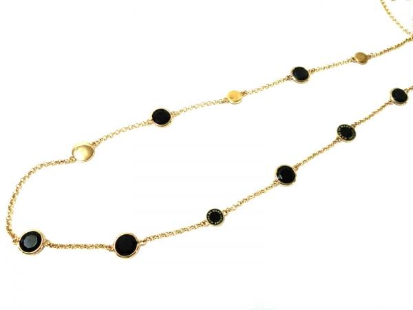 マークバイマークジェイコブス ネックレス美品  金属素材×プラスチック ゴールド×黒