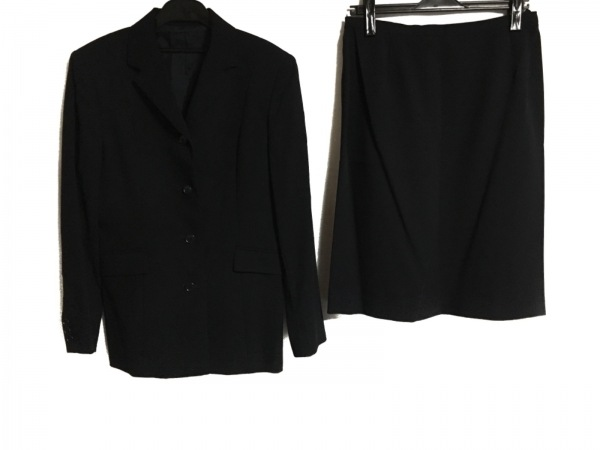 ru(アールユー) スカートスーツ サイズ13 L レディース ダークネイビー