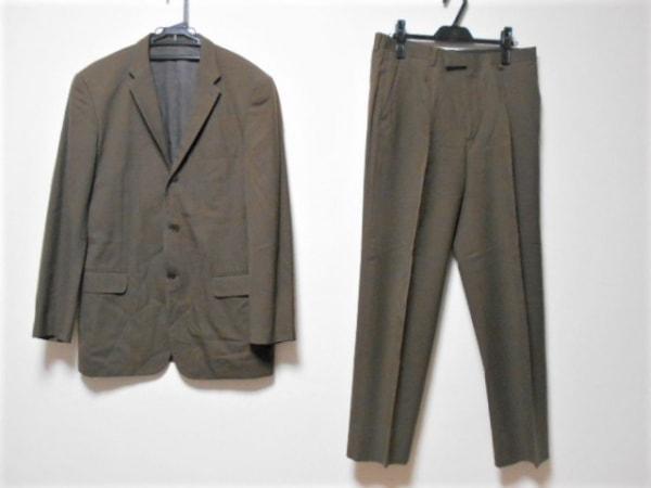 DKNY(ダナキャラン) シングルスーツ サイズ40 M メンズ ブラウン