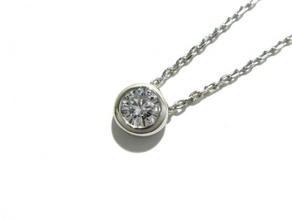 オレフィーチェ ネックレス新品同様  Pt950×Pt850×ダイヤモンド