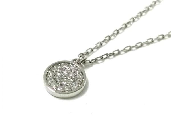 オレフィーチェ ネックレス美品  Pt950×Pt850×ダイヤモンド ダイヤ0.07カラット