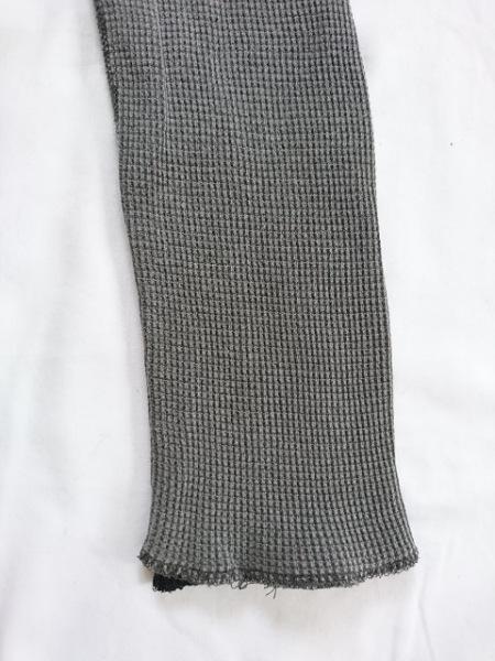 1260e457dc3cdc ... アタッチメント 長袖カットソー サイズ2 M メンズ グレー×黒 リバーシブル