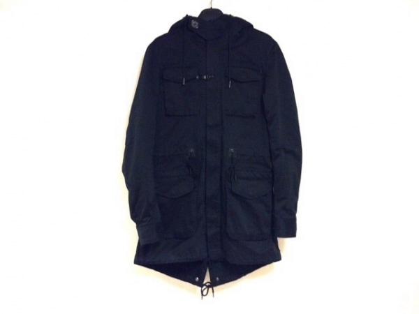 FACTOTUM(ファクトタム) コート サイズ46 XL メンズ 黒 ジップアップ/冬物