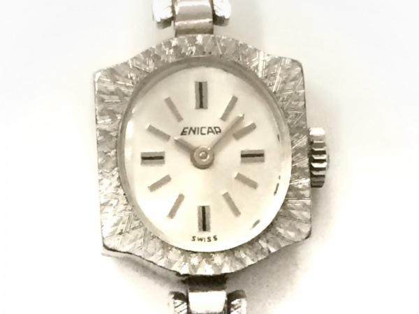 ENICAR(エニカ) 腕時計 レディース シルバー
