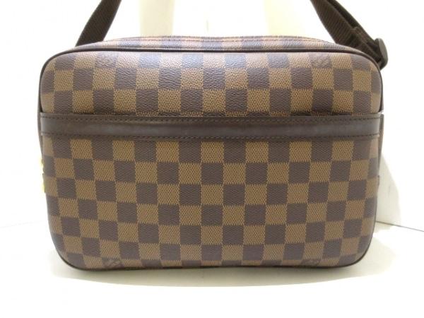 ルイヴィトン ショルダーバッグ ダミエ美品  リポーターPM N45253 エベヌ