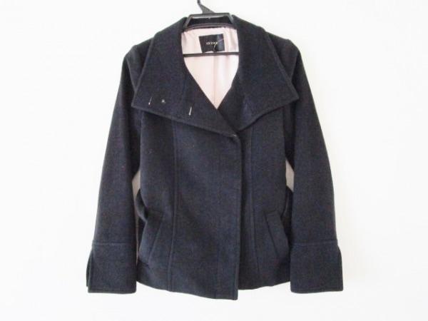 LEJOUR(ルジュール) コート サイズ36 S レディース 黒 ショート丈/冬物