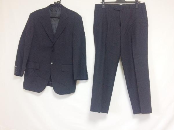 JOHNPEARSE(ジョンピアース) シングルスーツ サイズ92AB3 メンズ 黒 ネーム刺繍
