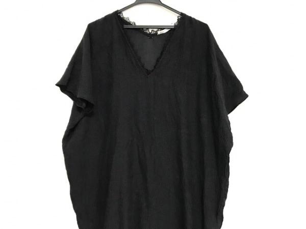 ULLA JOHNSON(ウラ・ジョンソン) ワンピース サイズ2 M レディース美品  黒 シルク
