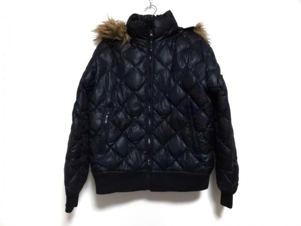 Penfield(ペンフィールド) ダウンジャケット サイズL メンズ 黒 冬物/キルティング