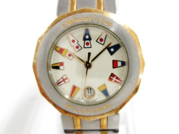 CORUM(コルム) 腕時計 アドミラルズカップ 39.610.21V52B レディース アイボリー