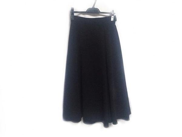 GOUT COMMUN(グーコミューン) ロングスカート サイズ38 M レディース 黒