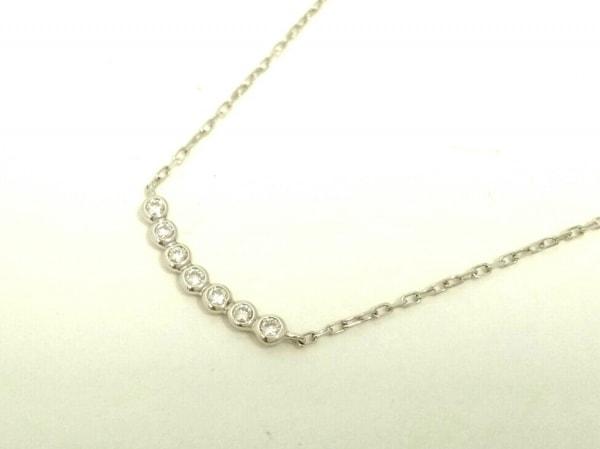 オレフィーチェ ネックレス美品  Pt950×Pt850×ダイヤモンド