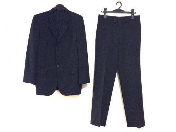INEDHOMME(イネドオム) シングルスーツ サイズ2 M メンズ 黒 肩パッド