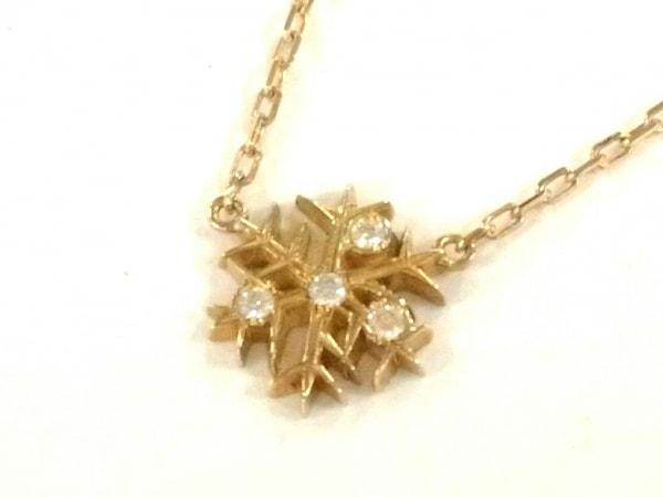 アーカー ネックレス美品  ヴィヴィアンネージュネックレス K18YG×ダイヤモンド