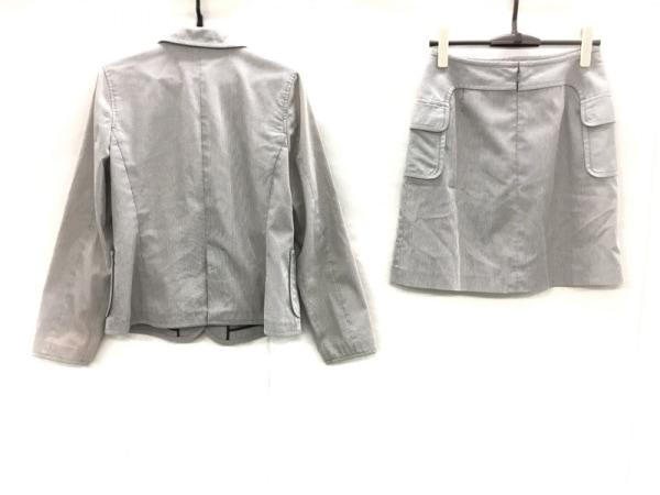 クロエ スカートスーツ サイズ40 M レディース美品  白×ダークブラウン 3点セット
