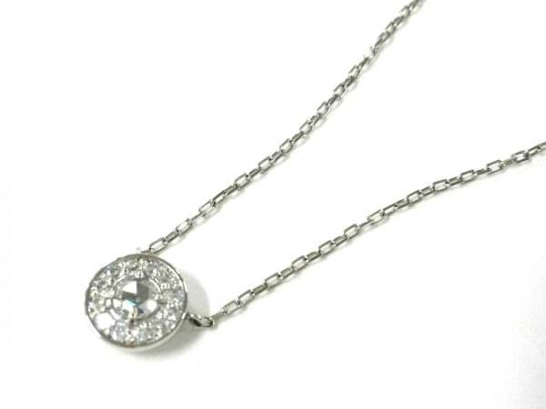 オレフィーチェ ネックレス美品  Pt950×Pt850×ダイヤモンド ダイヤ0.10カラット