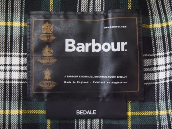 Barbour(バーブァー) コート サイズC36/91CM メンズ ダークグリーン×ダークブラウン