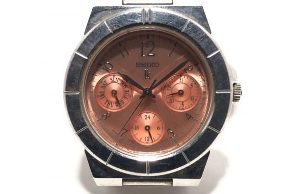SEIKO(セイコー) 腕時計 ルキア 5Y89-0830 レディース トリプルカレンダー ピンク
