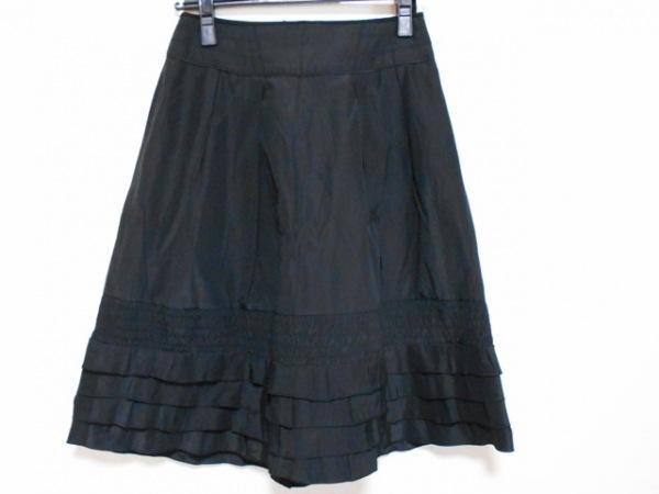 ボディドレッシングデラックス スカート サイズ「34」 レディース 黒 フリル