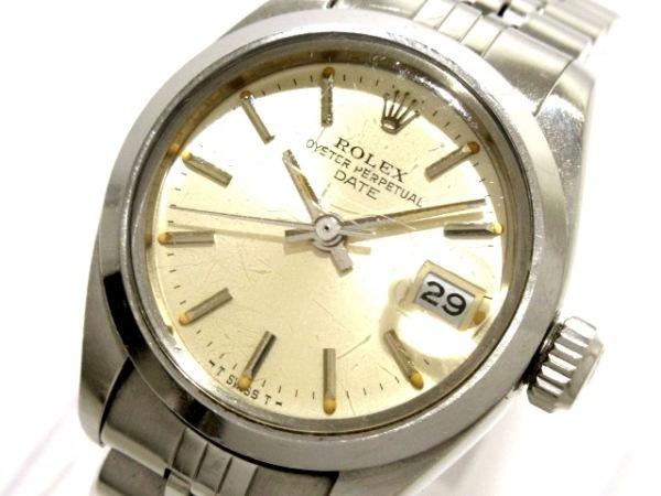 ROLEX(ロレックス) 腕時計 オイスターパーペチュアルデイト 6916 レディース シルバー