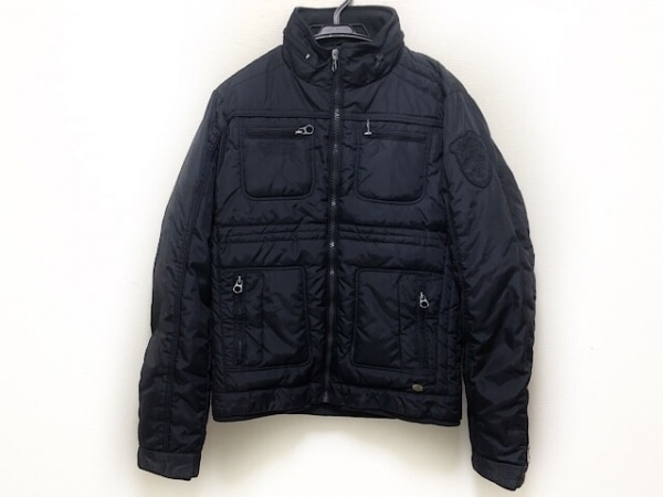 SCOTCH&SODA(スコッチアンドソーダ) ダウンジャケット サイズS メンズ 黒 冬物