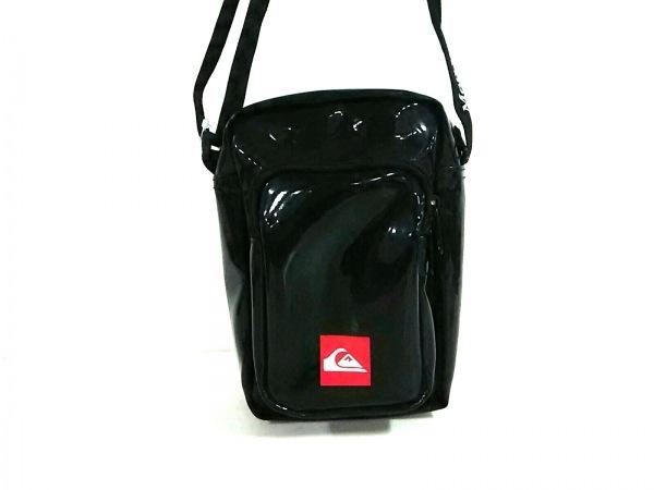 メルセデスベンツ ショルダーバッグ美品  黒×レッド×アイボリー PVC(塩化ビニール)